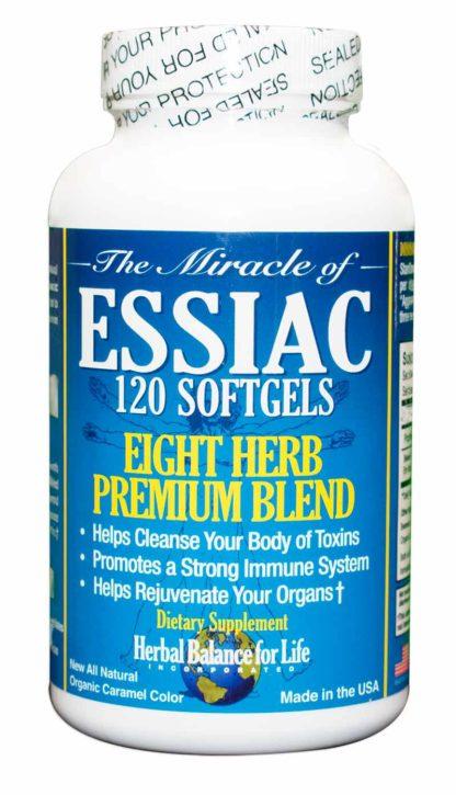 Essiac 8 Herb Soft Gels 120 Count 30 Day Supply